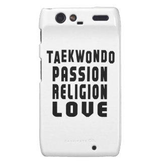 Diseños del Taekwondo Motorola Droid RAZR Carcasas