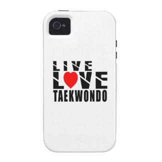 Diseños del TAEKWONDO Case-Mate iPhone 4 Funda