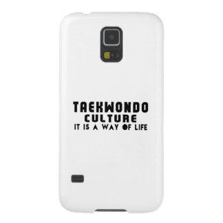 Diseños del TAEKWONDO Fundas De Galaxy S5
