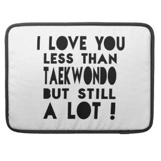 Diseños del Taekwondo Fundas Macbook Pro