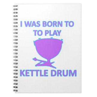 Diseños del tambor de la caldera cuadernos
