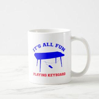 diseños del teclado taza