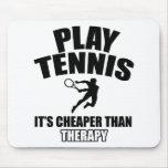 Diseños del tenis alfombrilla de raton
