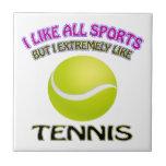 Diseños del tenis tejas