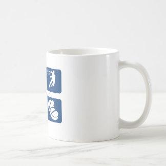 Diseños del tenis y artículos del regalo taza clásica