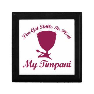 diseños del timpani joyero cuadrado pequeño