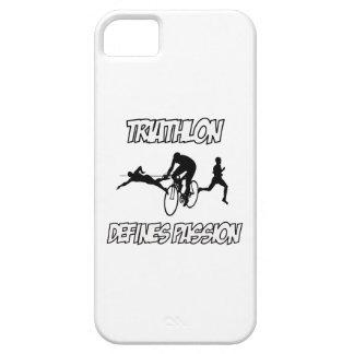 Diseños del TRIATHLON iPhone 5 Funda