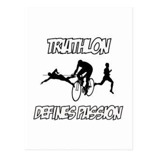 Diseños del TRIATHLON Postal