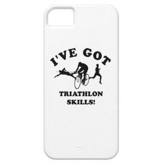 Diseños del Triathlon y artículos del regalo iPhone 5 Case-Mate Coberturas