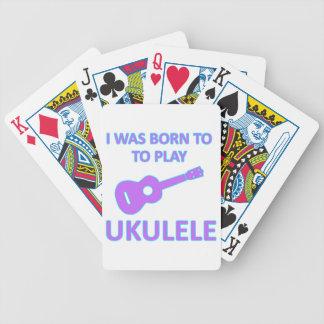 Diseños del Ukulele Baraja