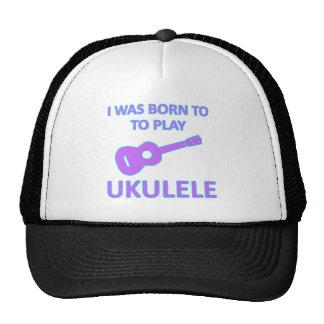 Diseños del Ukulele Gorras De Camionero