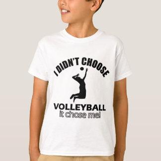 diseños del voleibol playera