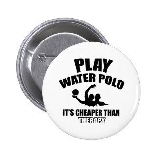 Diseños del water polo pin