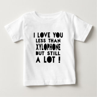 Diseños del xilófono t-shirts
