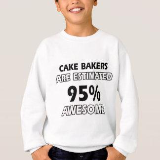 diseños divertidos de los panaderos de la torta remeras