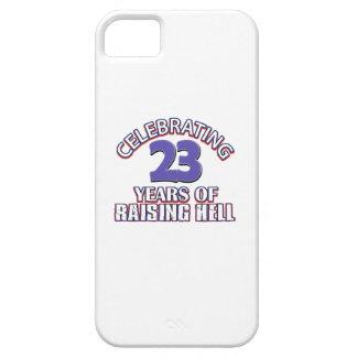 Diseños DIVERTIDOS del cumpleaños de 23 años iPhone 5 Case-Mate Cárcasa