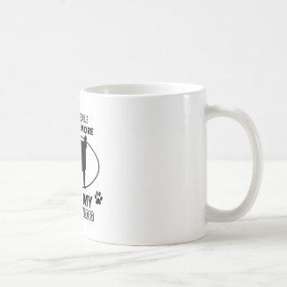 Diseños divertidos del dogo francés taza