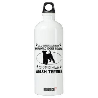 Diseños divertidos del terrier galés