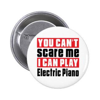 Diseños eléctricos del susto del piano pin redondo 5 cm