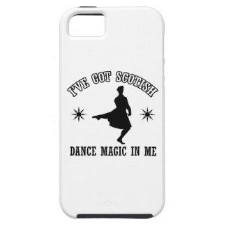 Diseños escoceses de la danza de la montaña iPhone 5 fundas