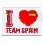 diseños españoles del deporte felicitación