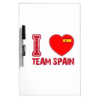 diseños españoles del deporte pizarra