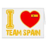 diseños españoles del deporte tarjetas