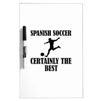 diseños españoles frescos del fútbol