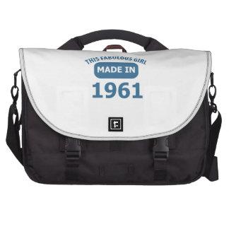 diseños fabulosos de 1961 años bolsas de portatil
