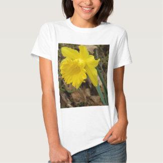 Diseños florales amarillos de Jonquils de la Camisas