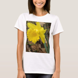 Diseños florales amarillos de Jonquils de la Playera