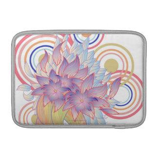 Diseños florales funda para macbook air