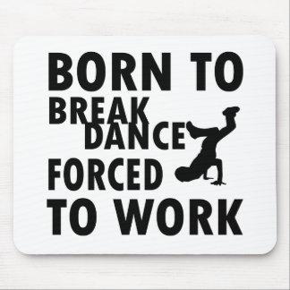 Diseños frescos de Breakdance Tapetes De Ratón