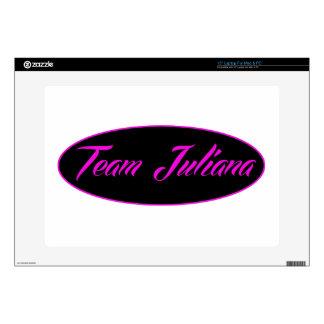 diseños frescos de Juliana del equipo 38,1cm Portátil Calcomanía