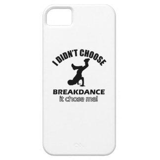 Diseños frescos de la danza de rotura iPhone 5 cobertura