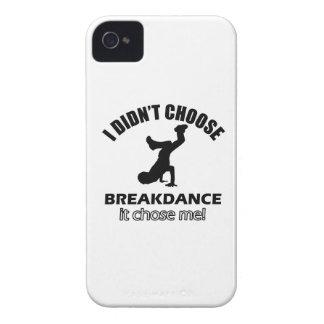 Diseños frescos de la danza de rotura iPhone 4 cobertura