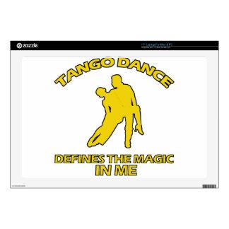 diseños frescos de la danza del tango portátil 43,2cm skins