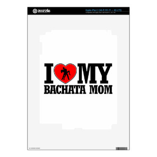 diseños frescos de la mamá de Bachata iPad 3 Pegatina Skin