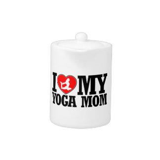 diseños frescos de la mamá de la yoga