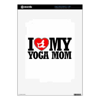 diseños frescos de la mamá de la yoga iPad 2 skin