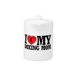 diseños frescos de la mamá del boxeo