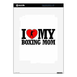 diseños frescos de la mamá del boxeo calcomanías para iPad 2
