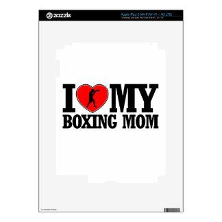 diseños frescos de la mamá del boxeo iPad 3 skin