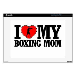 diseños frescos de la mamá del boxeo skins para 38,1cm portátiles
