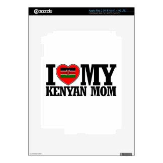 diseños frescos de la mamá del Kenyan Pegatinas Skins Para iPad 3