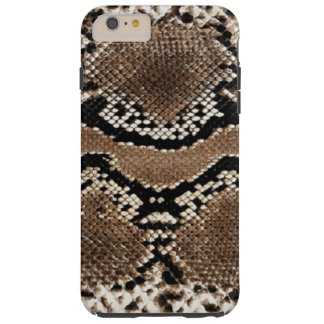 diseños frescos de la piel del pitón funda de iPhone 6 plus tough