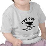 DISEÑOS FRESCOS de las habilidades del ala delta Camiseta