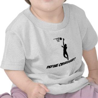 Diseños frescos de los amantes del netball camiseta