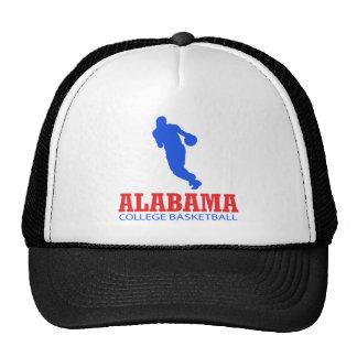 DISEÑOS frescos del baloncesto de Alabama Gorras