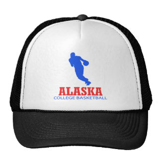 DISEÑOS frescos del baloncesto de Alaska Gorro